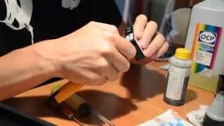Заправка картриджа hp 178/920 как заправить картридж(заправка струйного картриджа HP178/920 ,с цветными,аналогичный способ., 2015-09-01T18:51:38.000Z)