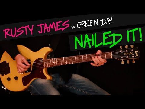 Rusty James - Green Day guitar cover by GV +chords
