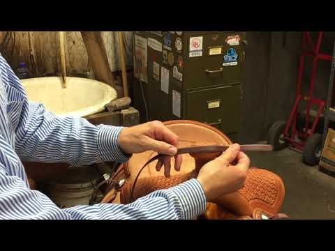 Tack Tip: How to Put a Rope Strap on Your Saddle