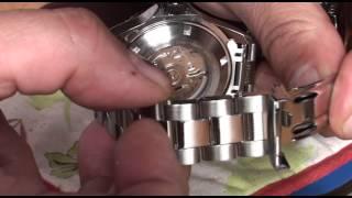 How to Shorten aฑ Invicta Watch Strap