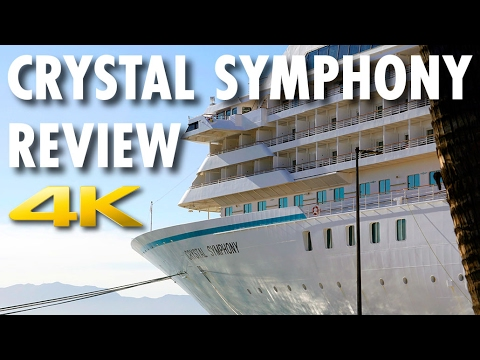 Crystal Symphony Tour & Review ~ Crystal Cruises ~ Cruise Ship Tour & Review [4K Ultra HD]