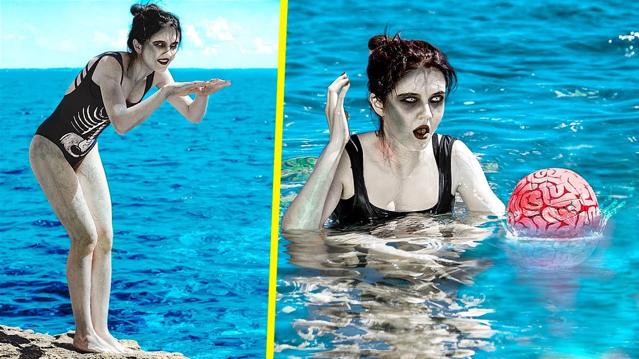 Zombie on Vacation / 11 Summer Zombie Ideas