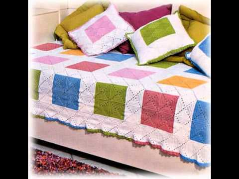 Crochet Bedspread Free Simplicity Patterns55 Youtube