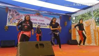 hindi dance song city womens college annual program