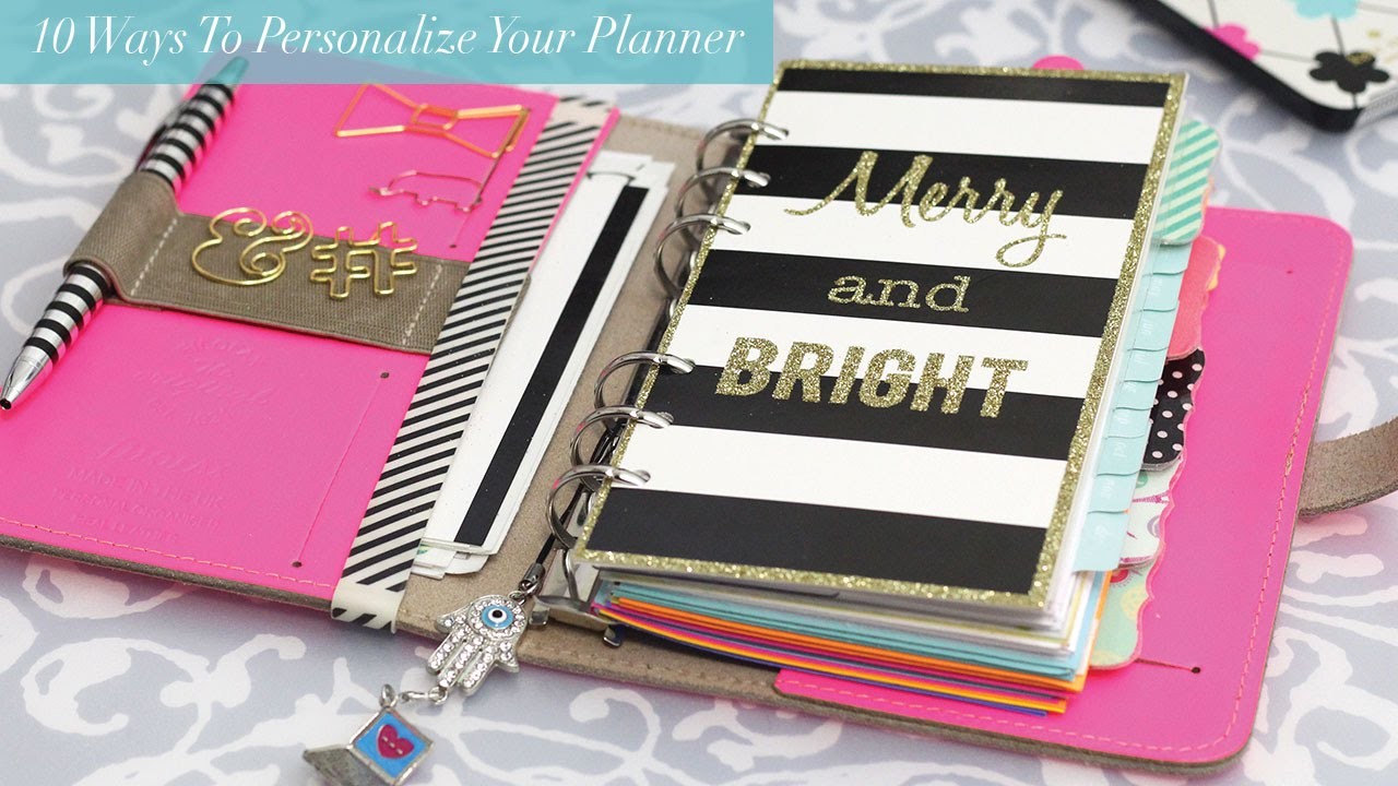 personalized weekly planners thevillas co
