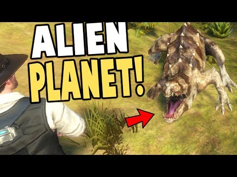 Exoplanet - Open World ALIEN SURVIVAL GAME! - Exoplanet: First Contact Gameplay