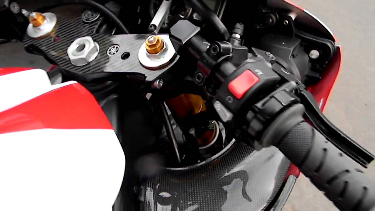 Yamaha R1 Touring Setup..