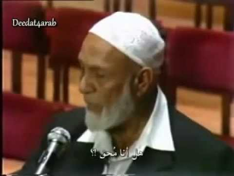 Jesus Prophecy by Prophet Muhammad the Spirit of truth John 16/ 12-16  - Deedat !!!