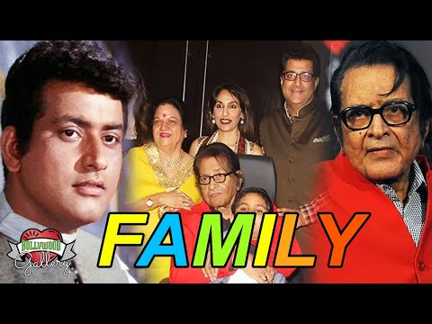 Manoj Kumar Family With Parents, Wife, Son, Brother and Grandson