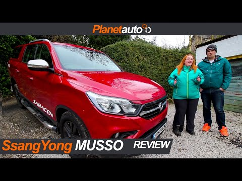 SsangYong Musso Saracen Full Review And Road Test
