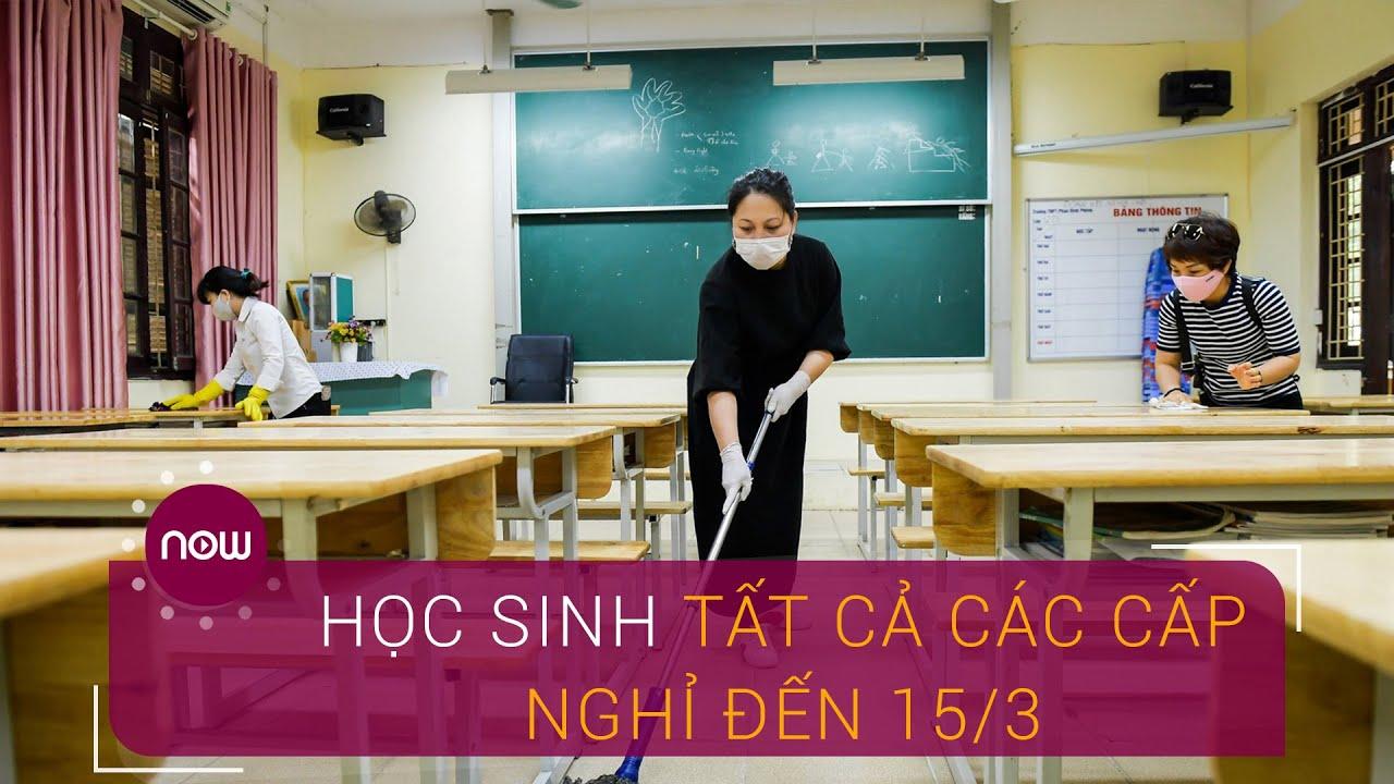 Hà Nội: Học sinh tất cả các cấp nghỉ đến 15/3 | VTC Now