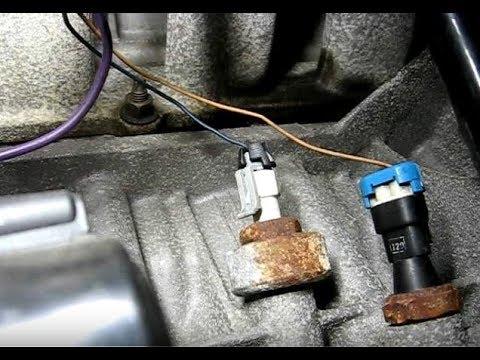 1993 Pontiac Bonneville Electrical Wiring Knock Sensor Replacement Youtube
