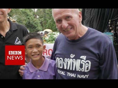 Thai cave rescue: Rescuer praises Wild Boars' resilience - BBC News