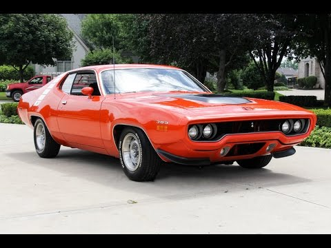 1971 Plymouth Road Runner For Sale Youtube