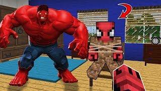 KORKUNÇ KIZIL HULK FAKİRİ KAÇIRDI ! ZENGİN KURTARABİLECEK Mİ ? - Minecraft Video