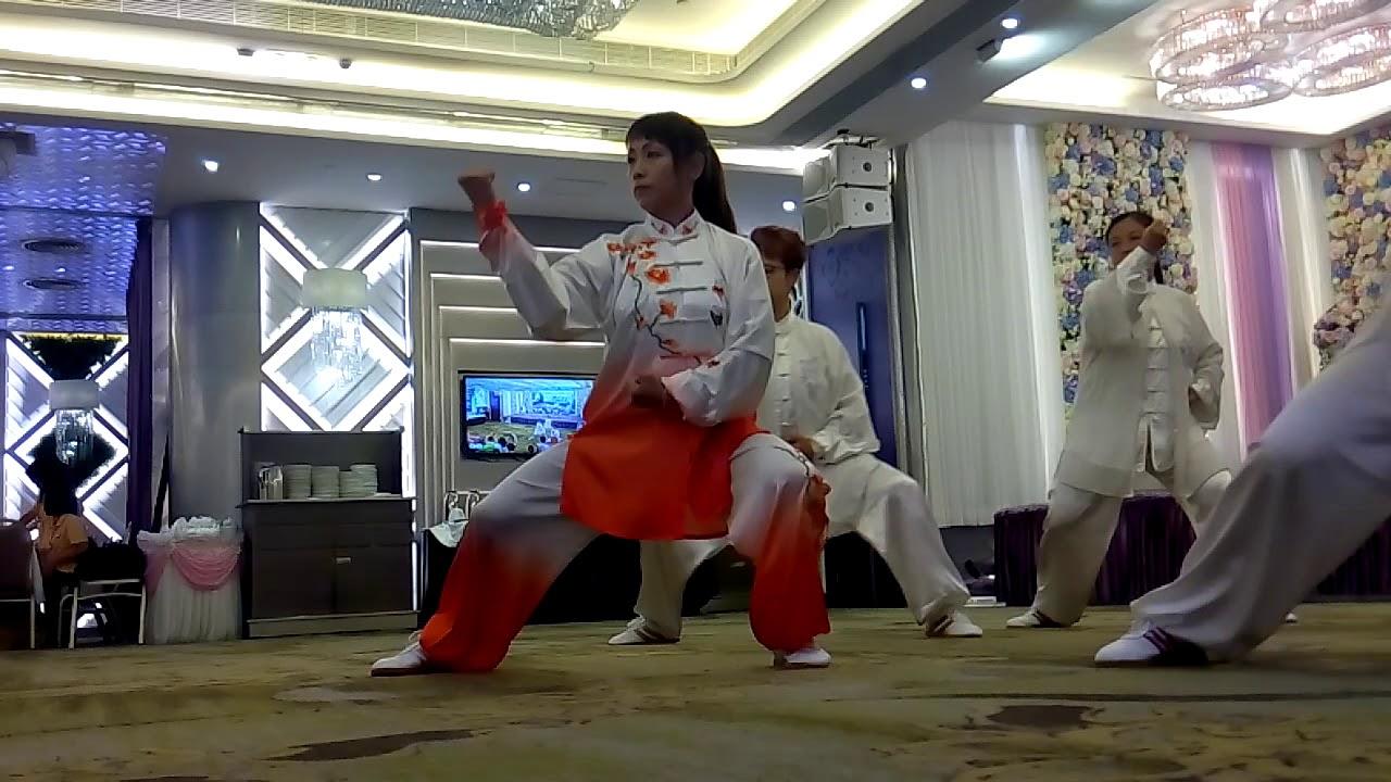 華冬梅太極學會 華冬梅師傅 陳式太極拳 - YouTube