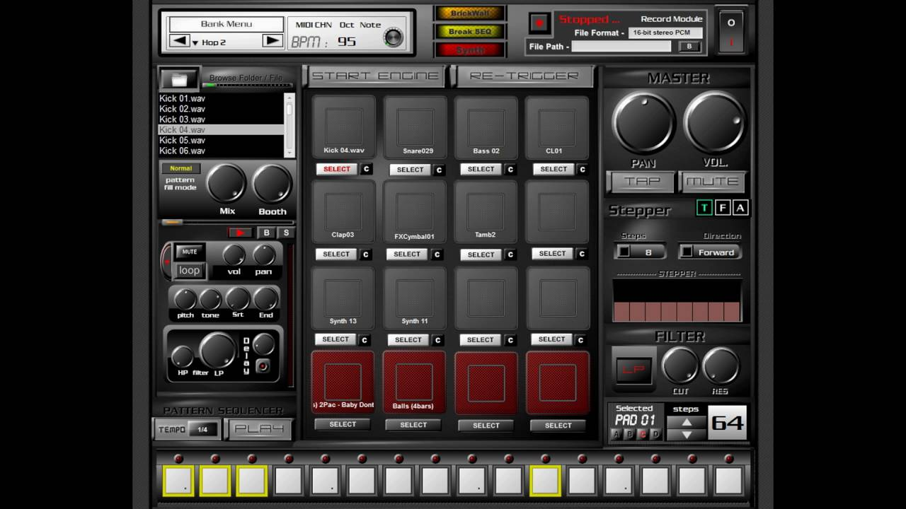 Virtual Drum Machine Sampler : free akai mpc style sampler vst plugin youtube ~ Vivirlamusica.com Haus und Dekorationen