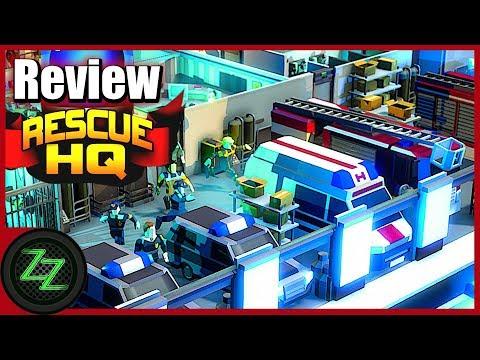 Rescue HQ Review [Deutsch/German] Polizei, Feuerwehr & Rettungsdienst Simulator Im Test [Tycoon Game