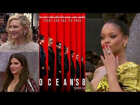 Oceans 8 Premiere Interviews - Sandra Bullock, Rihanna, Cate Blanchett Mp3