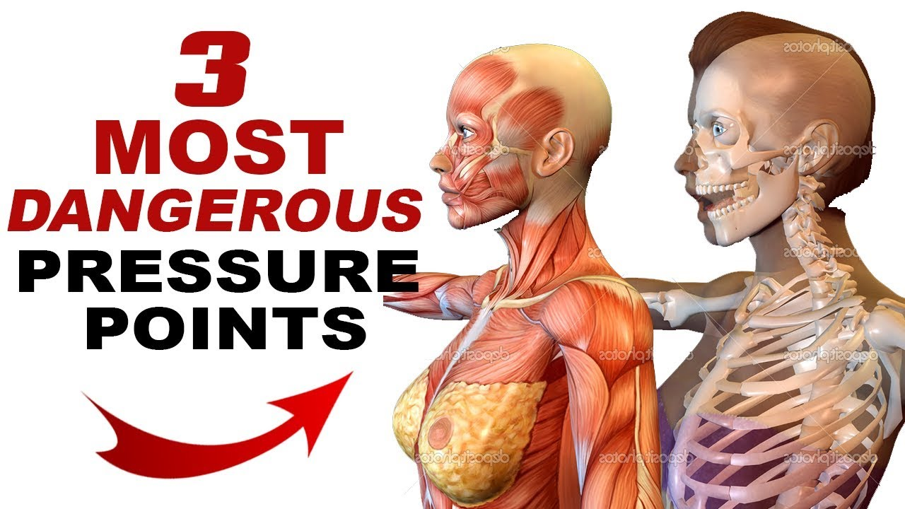 3 Most DANGEROUS Pressure Points for Self Defense - YouTube