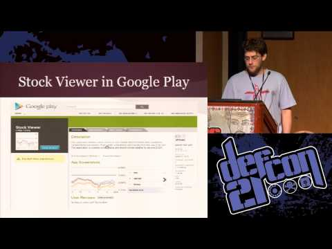 DEF CON 21 - Craig Young - Android WebLogin Google's Skeleton Key