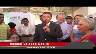 """Gobernador Manuel Velasco y la escritora Elena Poniatowska, inauguran Foro """"Vive Tu Medio"""""""
