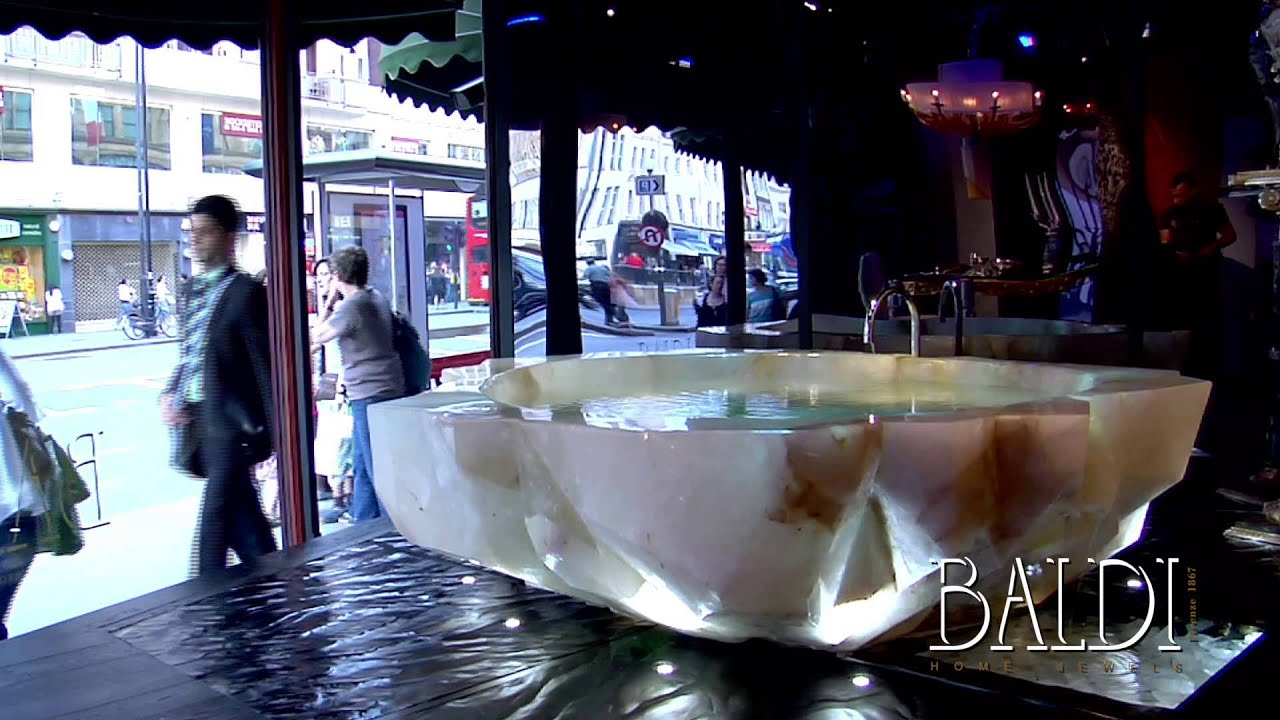 Baldi Home Jewels: the Rock Crystal bathtub in Harrods ...