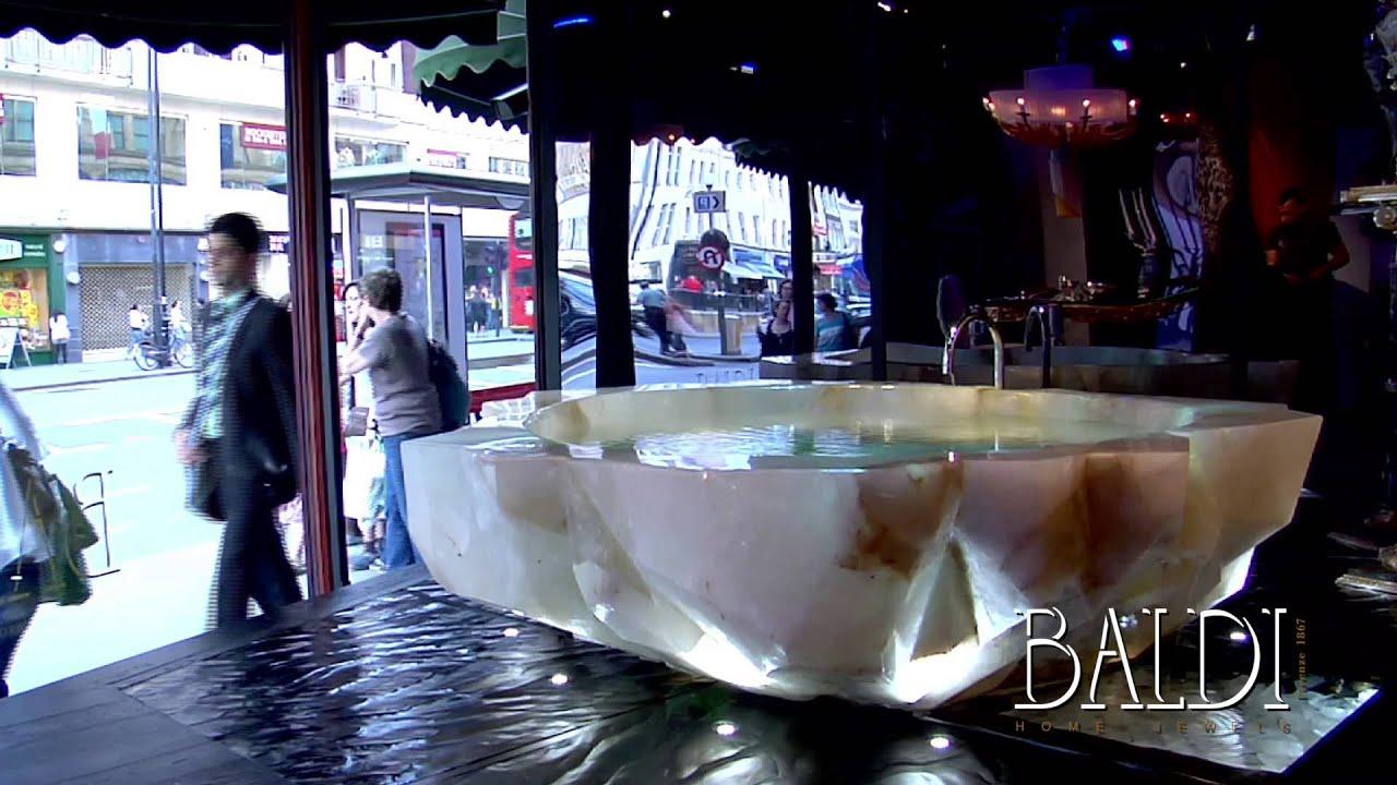 Baldi Home Jewels: the Rock Crystal bathtub in Harrods ...