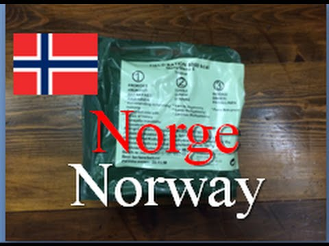 Norway Field Ration, 24 hour ~Unboxing & Breakfast~