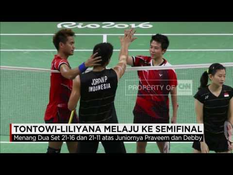 Olimpiade Rio: Sukses Indonesia, Tontowi - Liliyana ke Semifinal Bulutangkis Partai Ganda Campuran Mp3