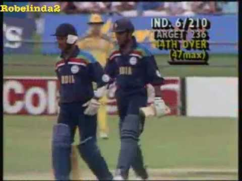 Sanjay Manjrekar hits a HUGE SIX in Australia!!!!! WOW!!!!!