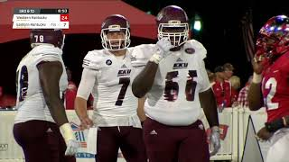 Eastern Kentucky vs Western Kentucky Football Highlights