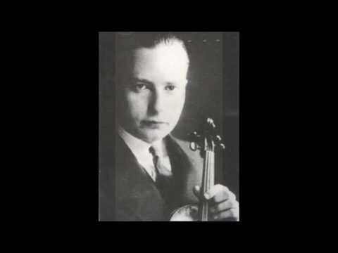 Josef Wolfsthal - Beethoven : Violin Concerto in D Op.61 - 2nd & 3rd Mvt (1929) 再復刻