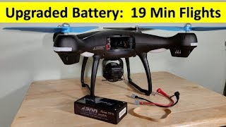 Upgraded 19 Min Batteries Promark GPS Shadow Drone