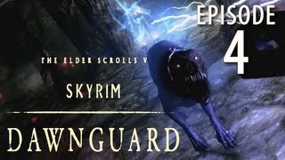 Skyrim: Dawnguard Walkthrough in 1080p, Part 4: Slashing Undead in Dimhollow Crypt (in 1080p HD)