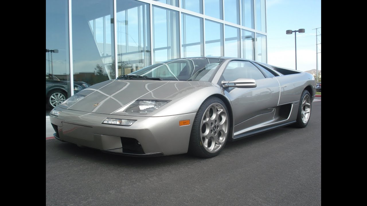 2001 lamborghini diablo 6 0 vt start up exhaust and in depth review youtube