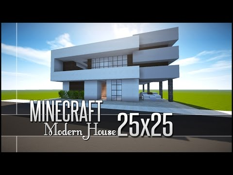 How To Build A Small Modern House On Minecraft Stunning Minecraft