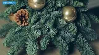 Как сделать настольную новогоднюю елочку