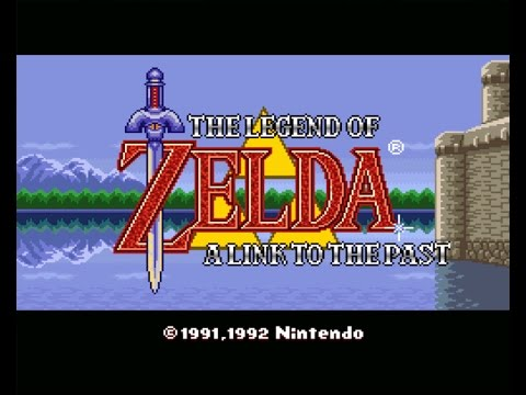 The Legend of Zelda: A Link to the Past - Live Stream with Mike Matei (Part 1)