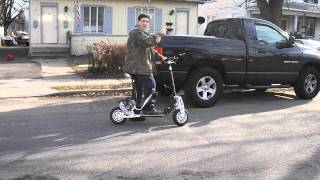 evo 2x 50cc power scooter