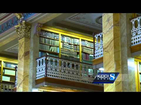 Stacey's Favorite Places: Iowa State Capitol Law Library