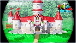 ¡¡ ENTRADA SECRETA AL REINO CHAMPIÑON !! - Super Mario Odyssey - Gameplay Español#9 [WithZack]