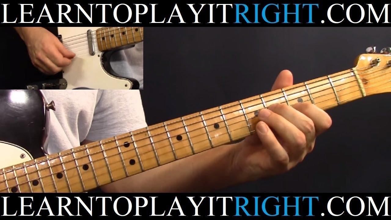 Eagles Take It Easy Guitar Lesson Tutorial Youtube T