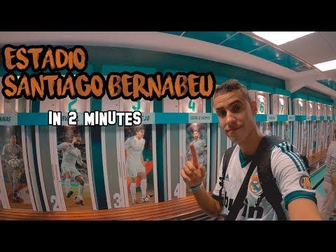 Visit Santiago Bernabeu Stadium in 2 Minutes