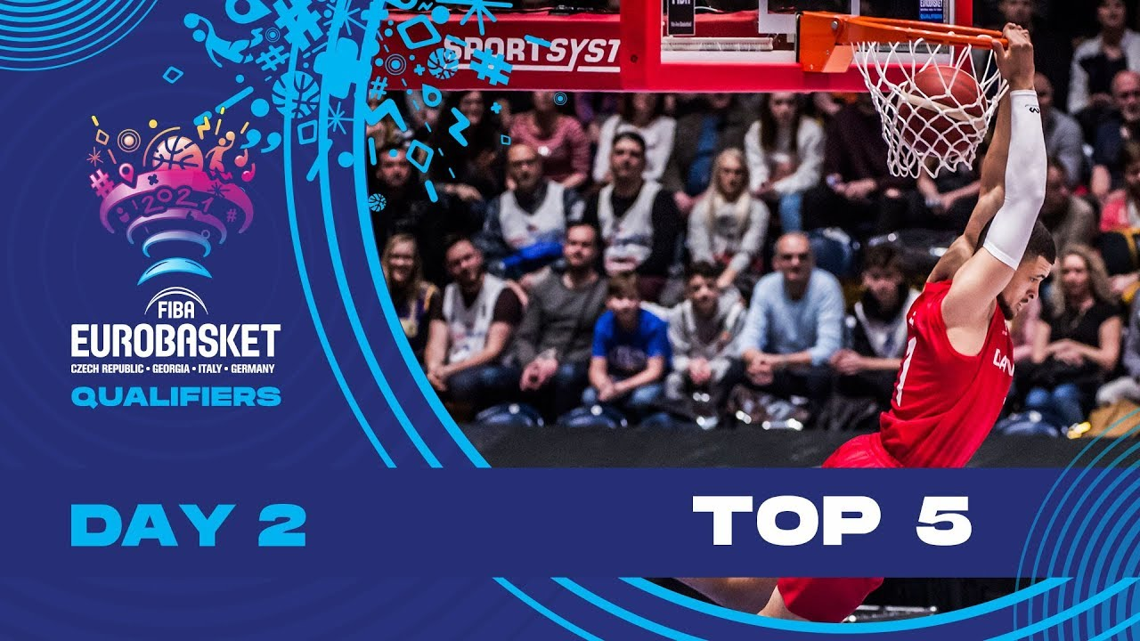 Nike Top 5 Plays | Game Day 2 (Friday) | FIBA EuroBasket 2022