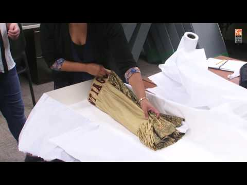 Workshop: Preserving Textiles in CSRC Collections