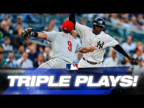 Recent MLB Triple Plays! | MLB Highlights