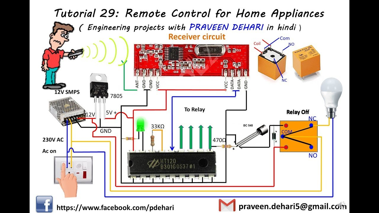 Remote Control For Home Appliances   Tutorial 29