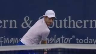 ¡What a point! Murray vs Raonic - Cincinnati 2016