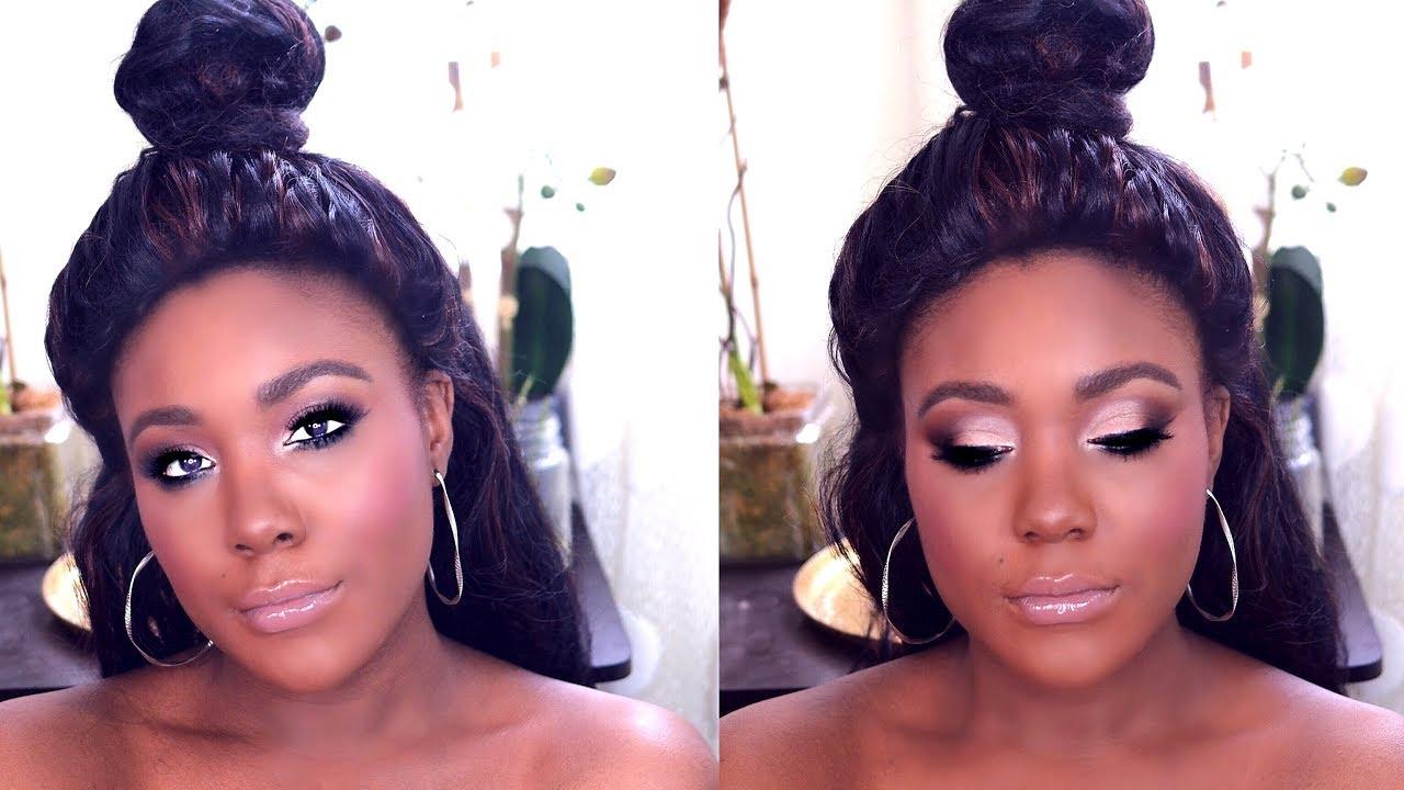 prom makeup 2017 drugstore makeup for black women woc